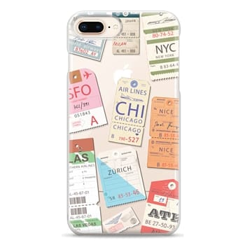Snap iPhone 8 Plus Case - Iphone _airlinetags