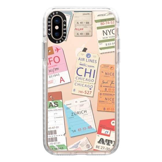 iPhone XS Cases - Iphone _airlinetags