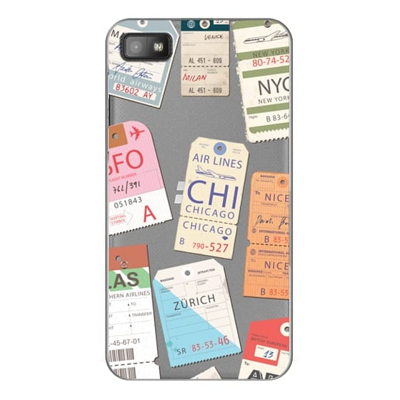 Blackberry Z10 Cases - Iphone _airlinetags