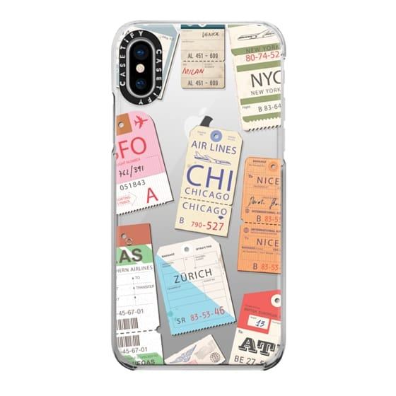 iPhone X Cases - Iphone _airlinetags