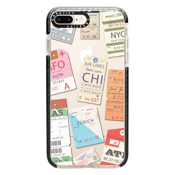 iPhone 8 Plus Cases - Iphone _airlinetags