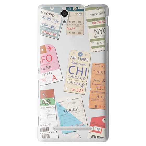 Sony C3 Cases - Iphone _airlinetags