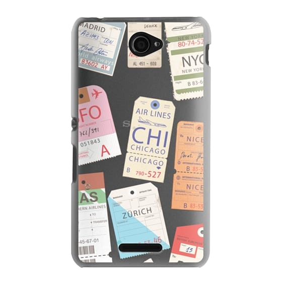 Sony E4 Cases - Iphone _airlinetags