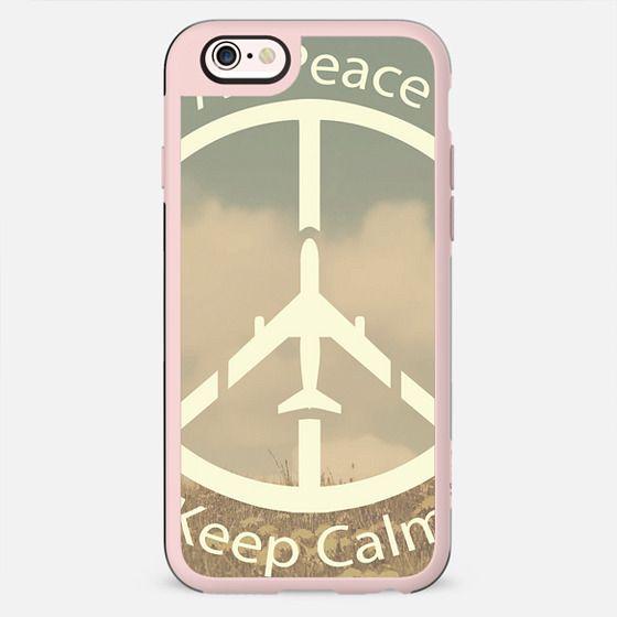 Air Peace Keep Calm - New Standard Case