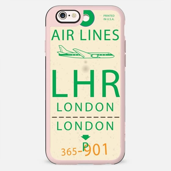 London Tag - New Standard Case