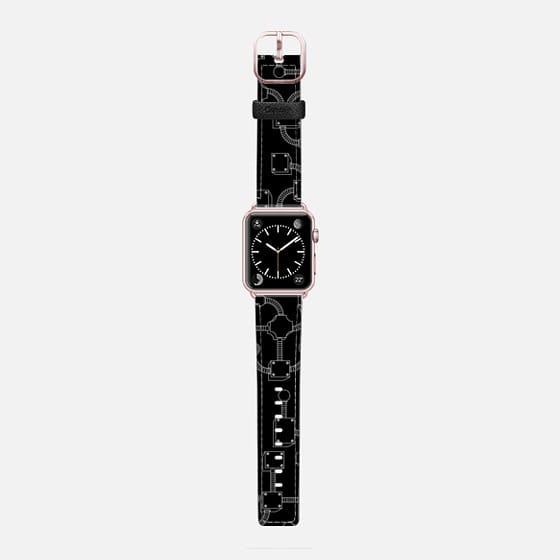 Tubos - Saffiano Leather Watch Band