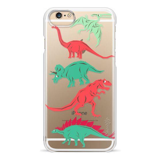 iPhone 6 Cases - Geometric Dinosaurs