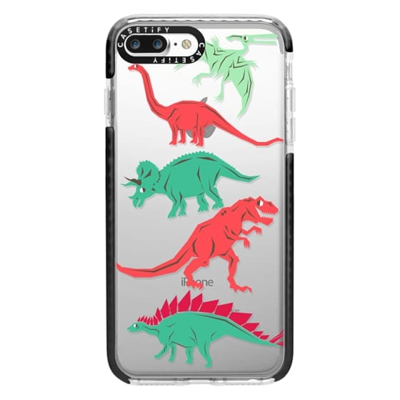 iPhone 7 Plus Cases - Geometric Dinosaurs