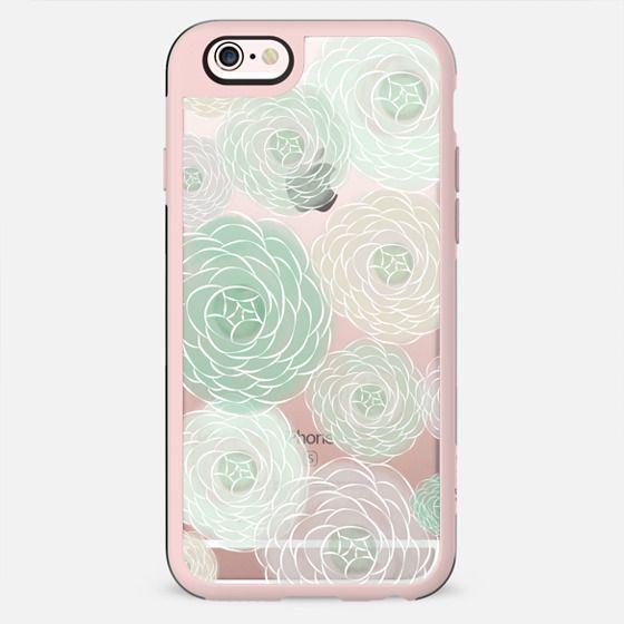 Mint Blooms - New Standard Case
