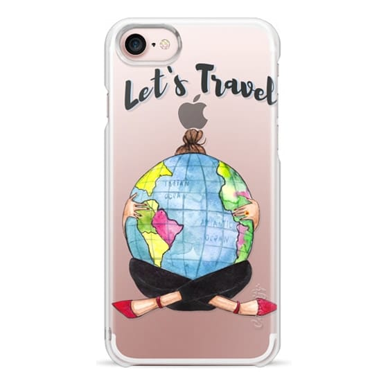 """iPhone 7 Cases - """"Lets travel"""""""