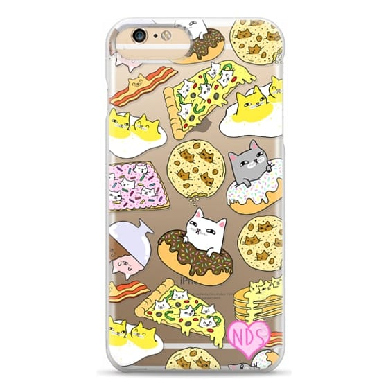 iPhone 6 Plus Cases - Cats in Food