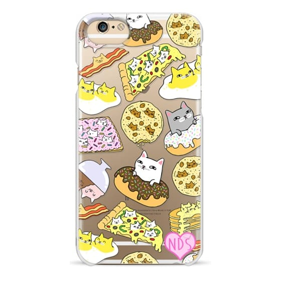 iPhone 6 Cases - Cats in Food