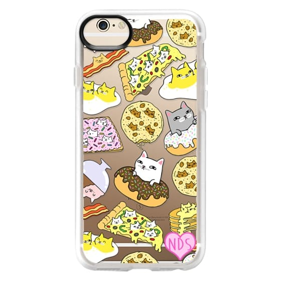 iPhone 6s Cases - Cats in Food
