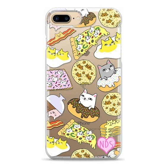 iPhone 7 Plus Cases - Cats in Food