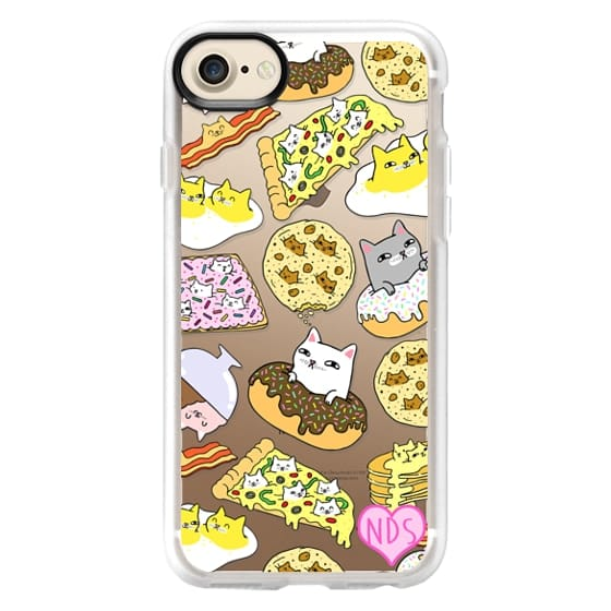 iPhone 7 Cases - Cats in Food