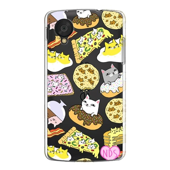 Nexus 5 Cases - Cats in Food