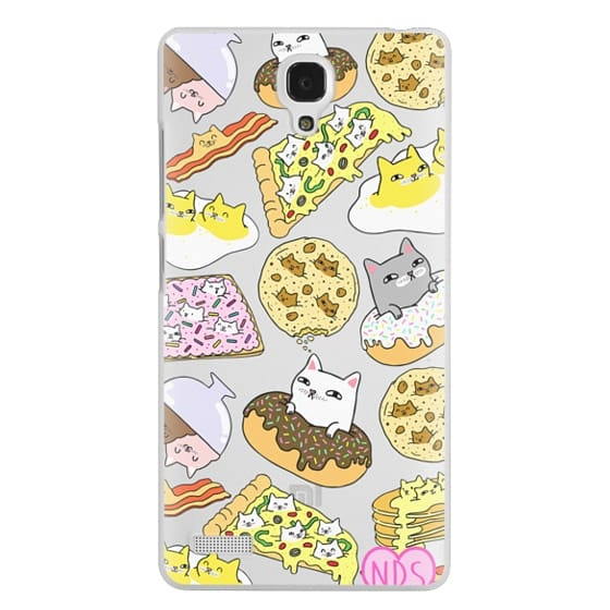 Redmi Note Cases - Cats in Food