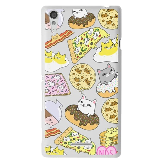Sony T3 Cases - Cats in Food