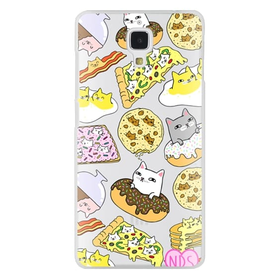 Xiaomi 4 Cases - Cats in Food