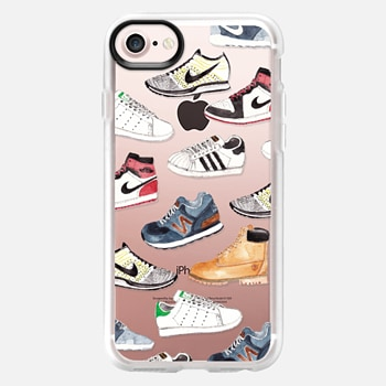iPhone 7 Case Watercolor Sneakers