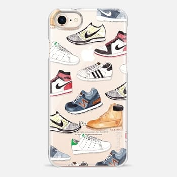 iPhone 8 Case Watercolor Sneakers