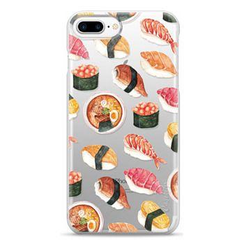 Snap iPhone 7 Plus Case - Watercolor Sushi