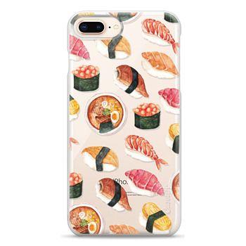 Snap iPhone 8 Plus Case - Watercolor Sushi