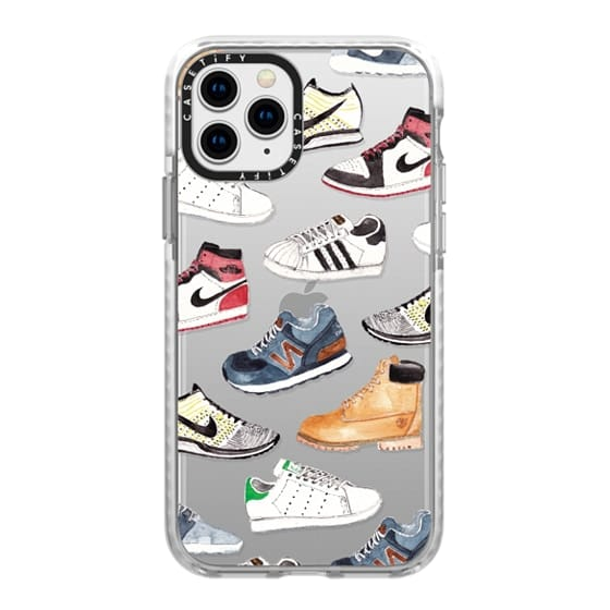 iPhone 11 Pro Cases - Watercolor Sneakers