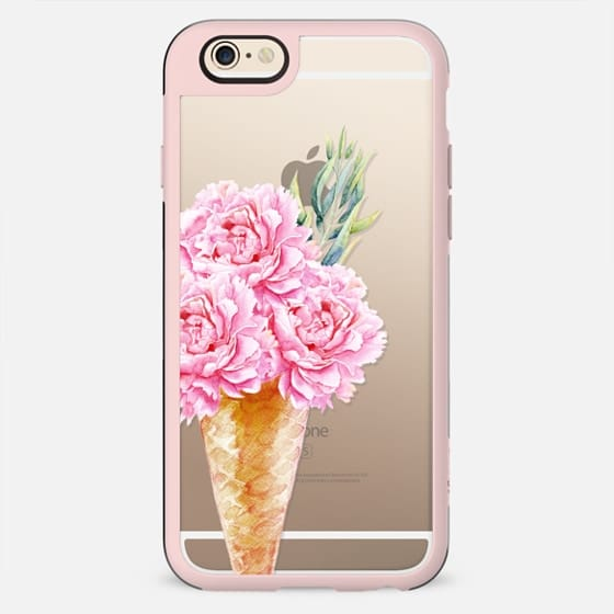 Floral Ice Cream - New Standard Case