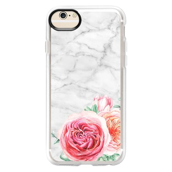 iPhone 6 Cases - MARBLE + FLORAL