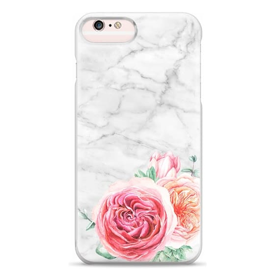 iPhone 6s Plus Cases - MARBLE + FLORAL