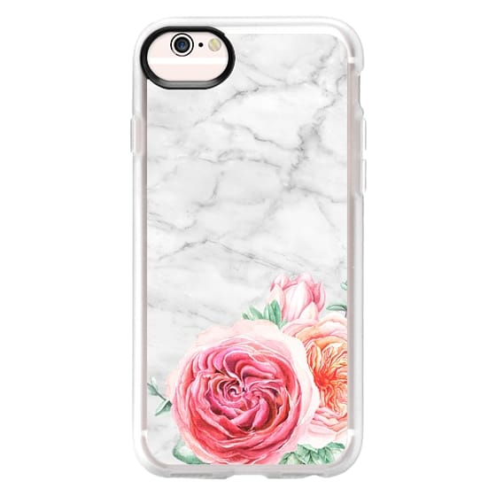 iPhone 6s Cases - MARBLE + FLORAL