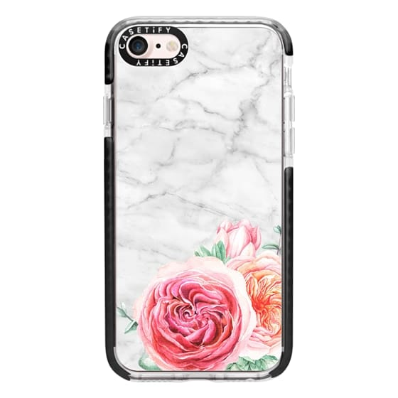 iPhone 7 Cases - MARBLE + FLORAL