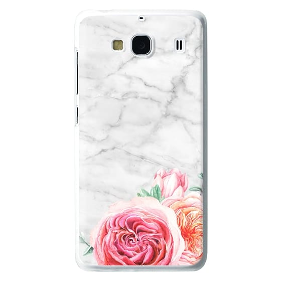 Redmi 2 Cases - MARBLE + FLORAL