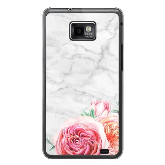 Samsung Galaxy S2 Cases - MARBLE + FLORAL