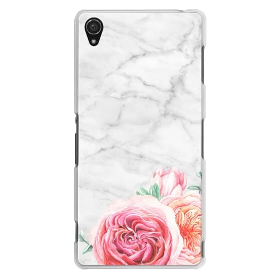 Sony Z3 Cases - MARBLE + FLORAL
