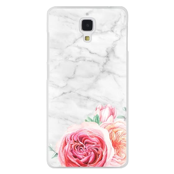 Xiaomi 4 Cases - MARBLE + FLORAL