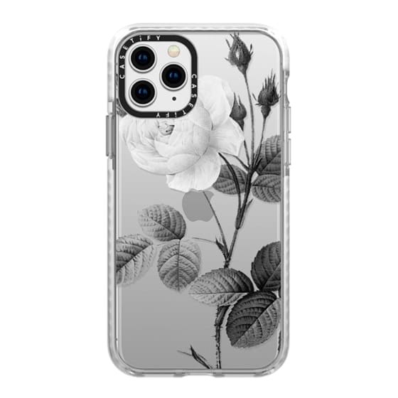 iPhone 11 Pro Cases - Black + White | Floral