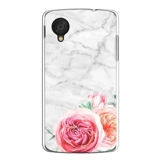 Nexus 5 Cases - MARBLE + FLORAL