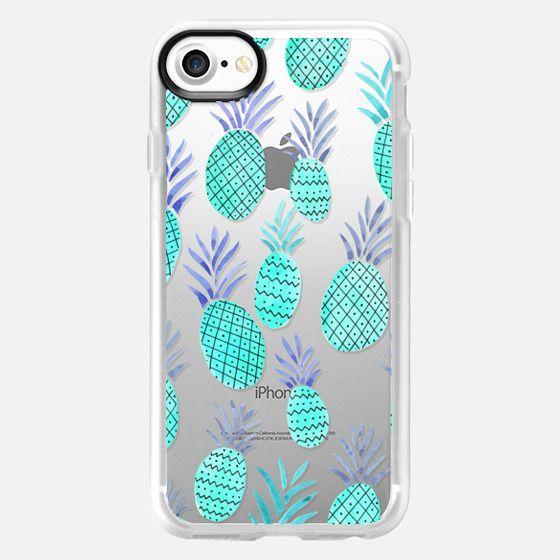 Blue Pineapples - Classic Grip Case