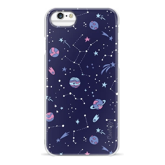 iPhone 6s Cases - Shooting Star Pattern in Purple