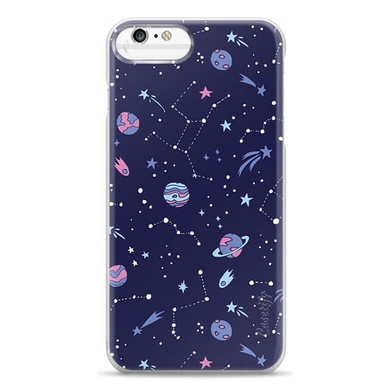iPhone 6s Plus Cases - Shooting Star Pattern in Purple