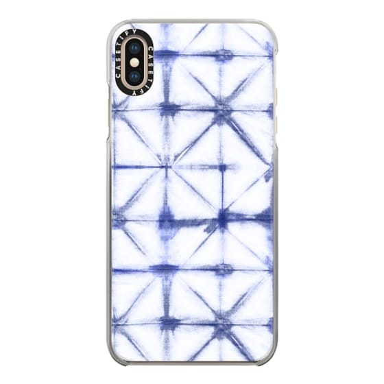 iPhone XS Max Cases - Geometric Shibori