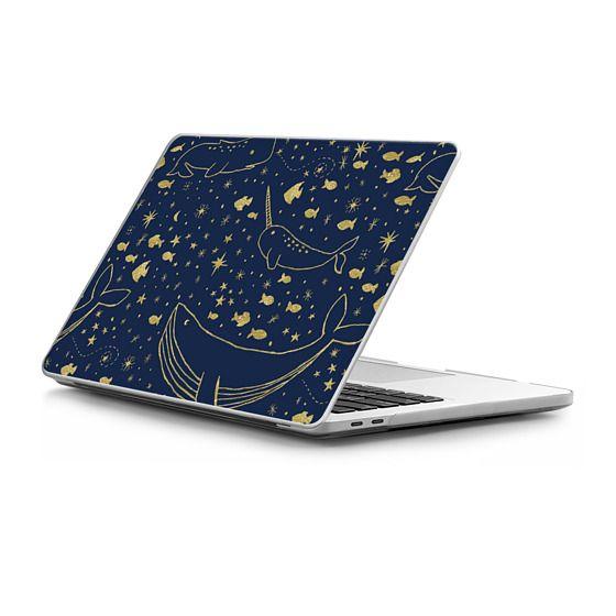 MacBook Pro Touchbar 15 Sleeves - Celestial Ocean in Gold