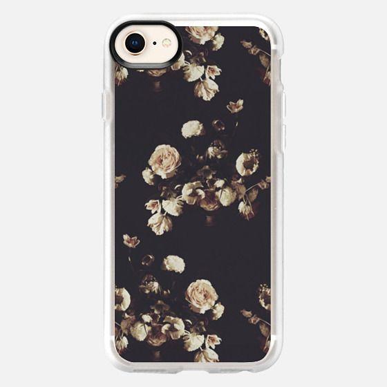 Antique Floral - Snap Case