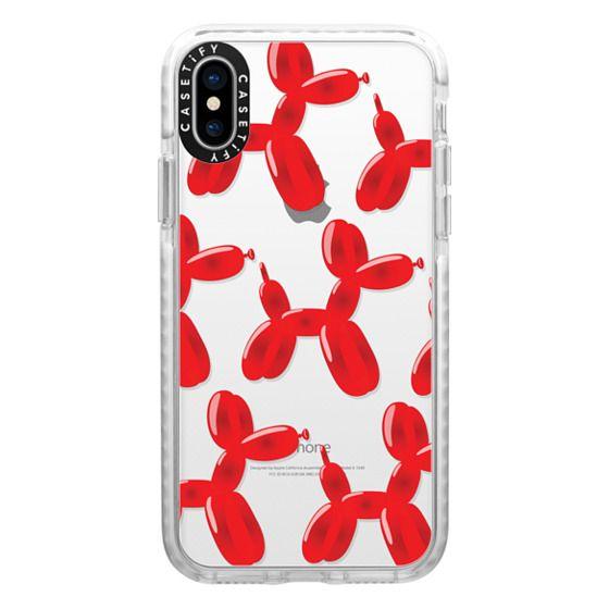 iPhone X Cases - Balloon Animals