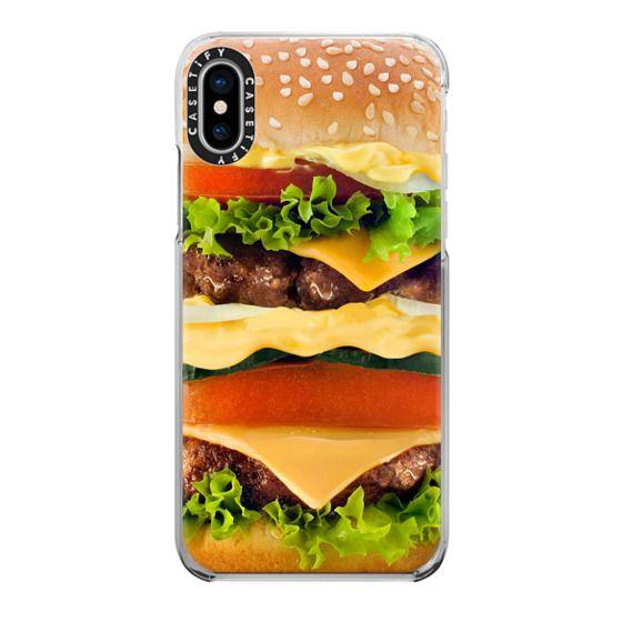 iPhone X Cases - Burger