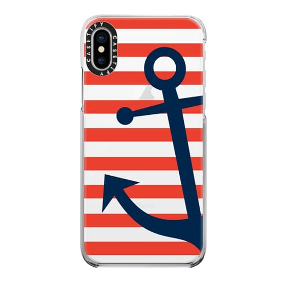 iPhone X Cases - Anchor's Away
