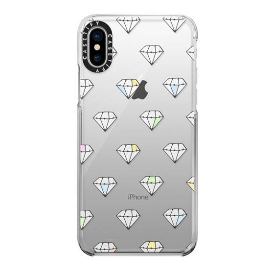 iPhone X Cases - Diamonds In The Sky