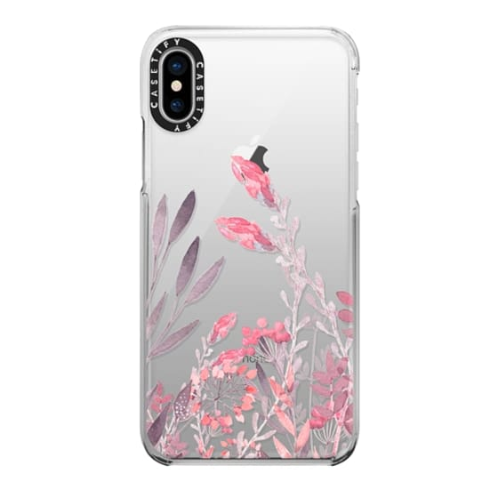 iPhone X Cases - Pretty In Pink